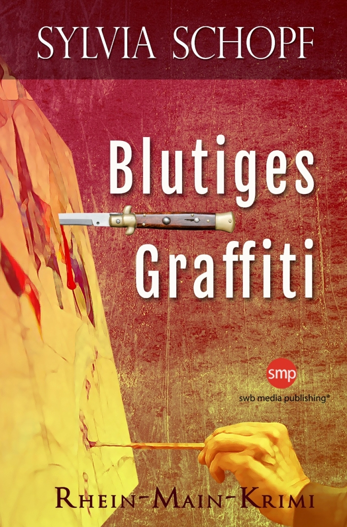 Blutiges Graffiti